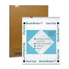 Tops Business Forms Easel Pad - Plain - 40 Sheets - 27
