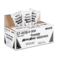 Crayola Model Magic Clay - Value Pack -12 8 oz. Packs - White