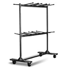Hanging Folding Chair Cart with 96 Chair Capacity - 90