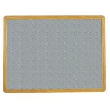 2700 Series Tackboard with Flat Wood Face Frame - Claridge Cork - 48