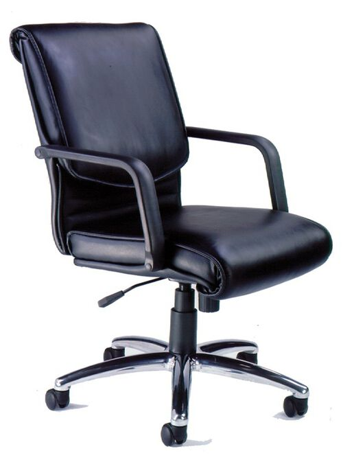 Our Mercado Alliance Chair with Adjustable Seat Height - Black Leather is on sale now.