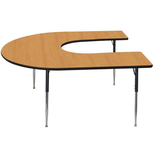 Our High Pressure Horseshoe Shaped Activity Table with Lotz Armor Edge - 60