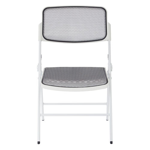 Our Pro-Line II Deluxe ProGrid® Mesh Seat and Back Folding Chair with 400 lb. Weight Capacity - Set of 2 - White is on sale now.