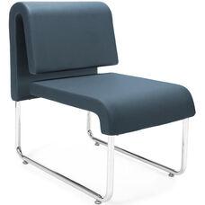 UNO Lounge Chair - PU Navy