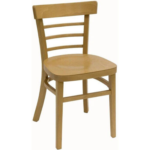 Our Steak House Wood Guest Chair - Natural Finish is on sale now.