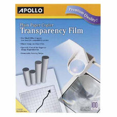 Apollo Transparency Film - Letter - 8.50