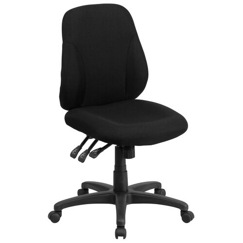 Our Mid-Back Black Fabric Multifunction Swivel Ergonomic Task Office Chair is on sale now.