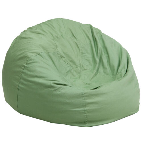 Our Oversized Solid Green Bean Bag Chair is on sale now.