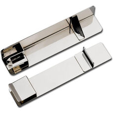 Front and Back Stacking Post Set - Silver