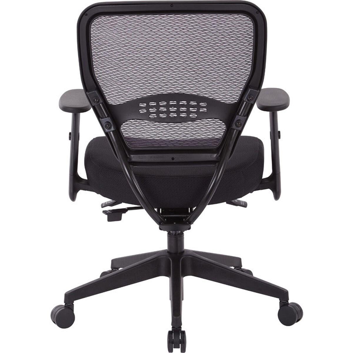 air grid black office chair 5500sl churchchairs4less com