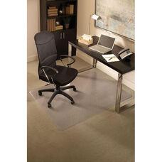 EverLife 48''W x 72''D Medium Pile Rectangular Anchorbar Chairmat