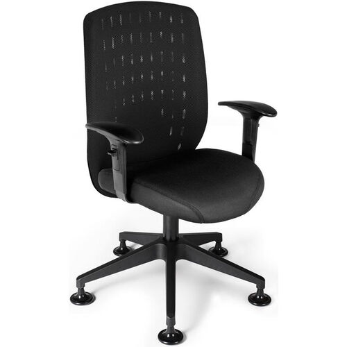 Vision Executive Guest Chair - Black