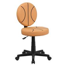 Basketball Swivel Task Office Chair
