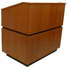 Coventry Non-Sound Multimedia Lectern - Cherry Finish - 30