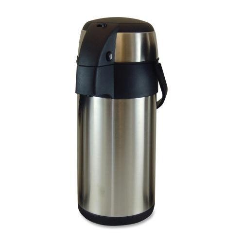 Our Genuine Joe Vacuum Pump Pot - 3.0L - Stainless Steel is on sale now.