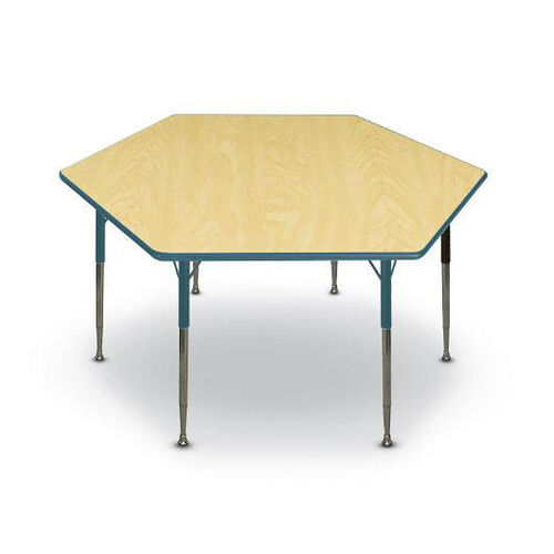 Our Hexagon Shaped Particleboard Juvenile Activity Table - 48