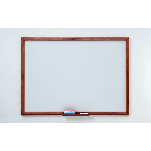 Our 110 Series Markerboard with Wood Frame - 48