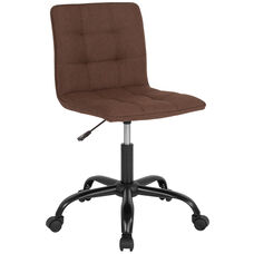 Sorrento Home and Office Task Chair in Brown Fabric
