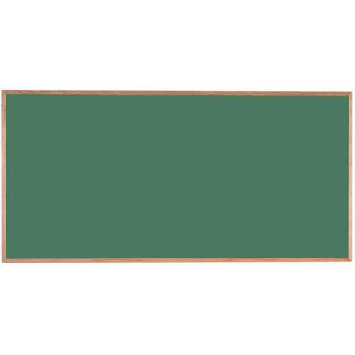 Our Green Composition Chalkboard with Red Oak Frame - 48