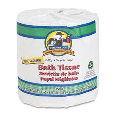 Genuine Joe Bath Tissue - 2 -Ply - 550SH -RL - 80 count - WE