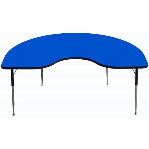 Our Kidney Shaped Particleboard Activity Table - 36