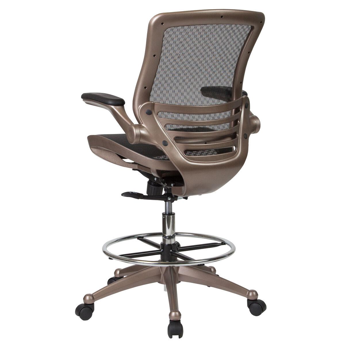 black mesh drafting chair bl lb 8801x d gg churchchairs4less com