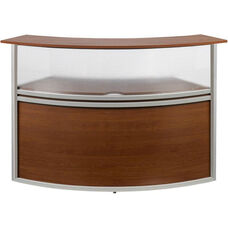 Marque Plexi Reception Station Add-On Unit - Cherry