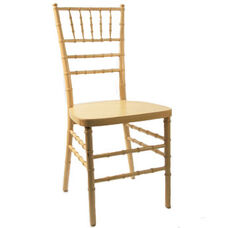 American Classic Natural Wood Chiavari Chair