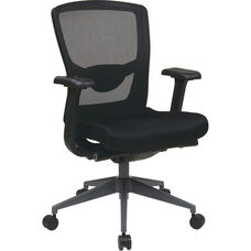 Pro-Line II Executive ProGrid High Back Office Chair - Black