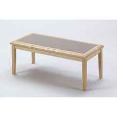 Somerset Series Coffee Table with Gray Matrix Inlay