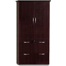 Pimlico Lateral File Storage Cabinet - Mocha