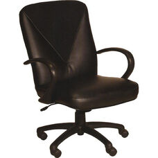 1499 Ergonomic Chair w/ Black Nylon Base - Grade 1