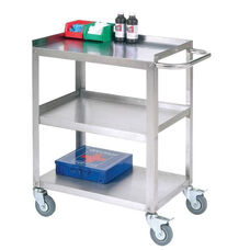 Stainless Steel Utility Cart - 15