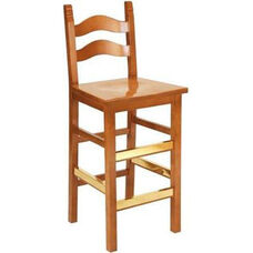 2903 Bar Stool w/ Saddle Seat