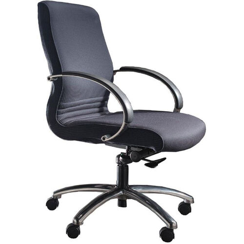 Quick Ship 1200 Series Management Swivel Chair with Polished Chrome Arms