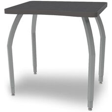 ELO Plymouth High Pressure Laminate Desk with Adjustable Legs and 1.25
