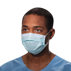 Kimberly-Clark Professional Procedure Mask - Pleat-Style w/Ear Loops - Blue - 500/Carton