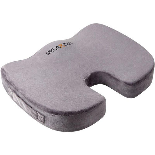 Our Relaxzen Coccyx Medium Firm Gel Enchanced Memory Foam Cushion - Gray is on sale now.