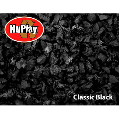 Our NuPlay Recycled Rubber Loose Fill Mulch - Black - 1.5 Cubic Feet is on sale now.