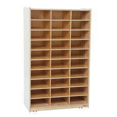 Heavy Duty Mailbox Storage and Distribution Center with Thirty Storage Shelves - Assembled - 30
