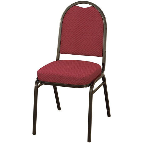 Our Quick Ship 500 Series Stacking Armless Hospitality Chair with Rounded Back and 2