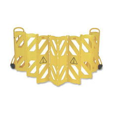 Rubbermaid Commercial Products Foldable Mobile Caution Barrier - 156