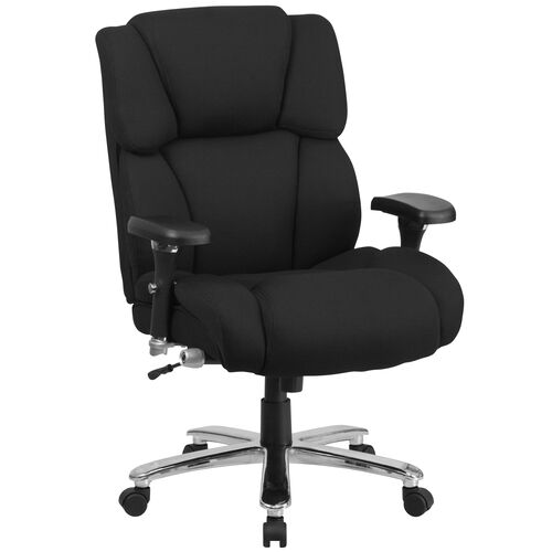 Our HERCULES Series 24/7 Intensive Use Big & Tall 400 lb. Rated Executive Swivel Ergonomic Office Chair with Lumbar Knob and Tufted Headrest & Back is on sale now.
