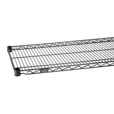 Black Epoxy Standard Wire Shelf - 18