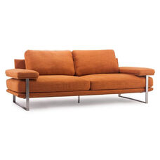 Jonkoping Sofa in Sunkist Orange