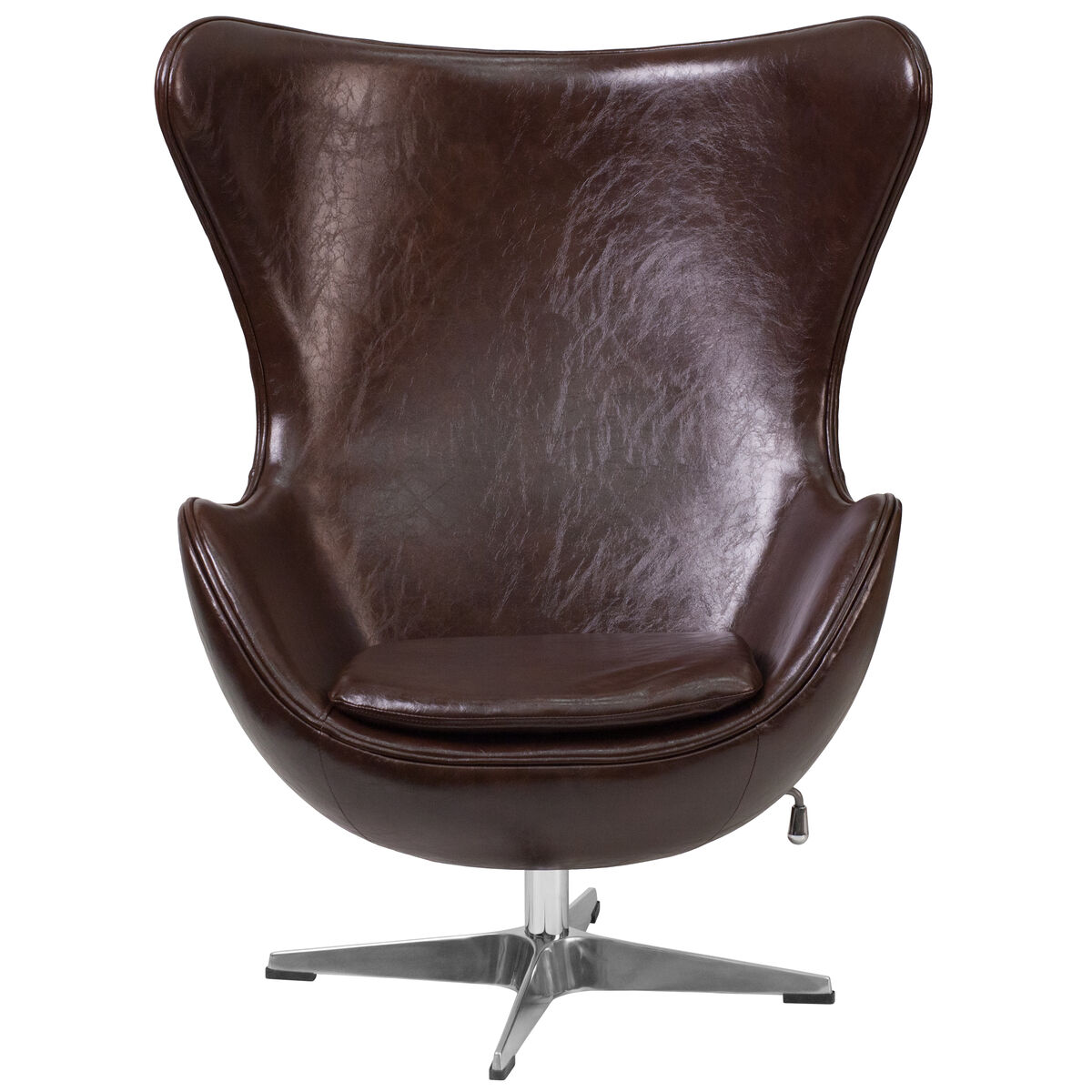 leather egg chair brown leather egg chair zb 11 gg churchchairs4less com 16624 | FLASH FURNITURE ZB 11 GG INSET3