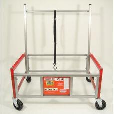 Steel Flagship Ergonomic Table Toter for Rectangular Folding Tables - 37