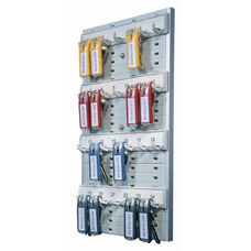 Durable® Key Rack - 24-Tag Capacity - 8 3/8