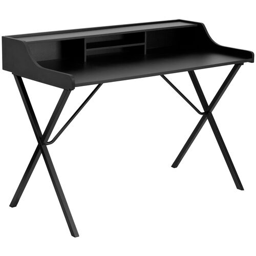 Our Black Computer Desk with Top Shelf is on sale now.