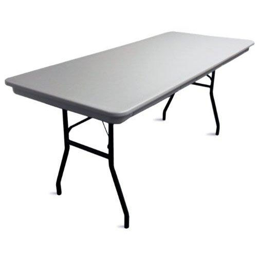 Our Commercialite Rectangular Polyethylene Folding Table with Locking Legs - 72